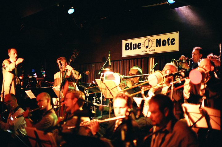 """Pete McGuinness Jazz Orchestra""""Old Roads"""" recording session"""